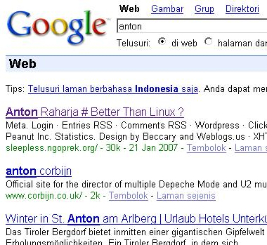 Search Anton