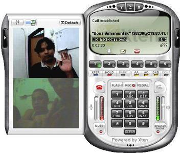 eyeBeam videocall